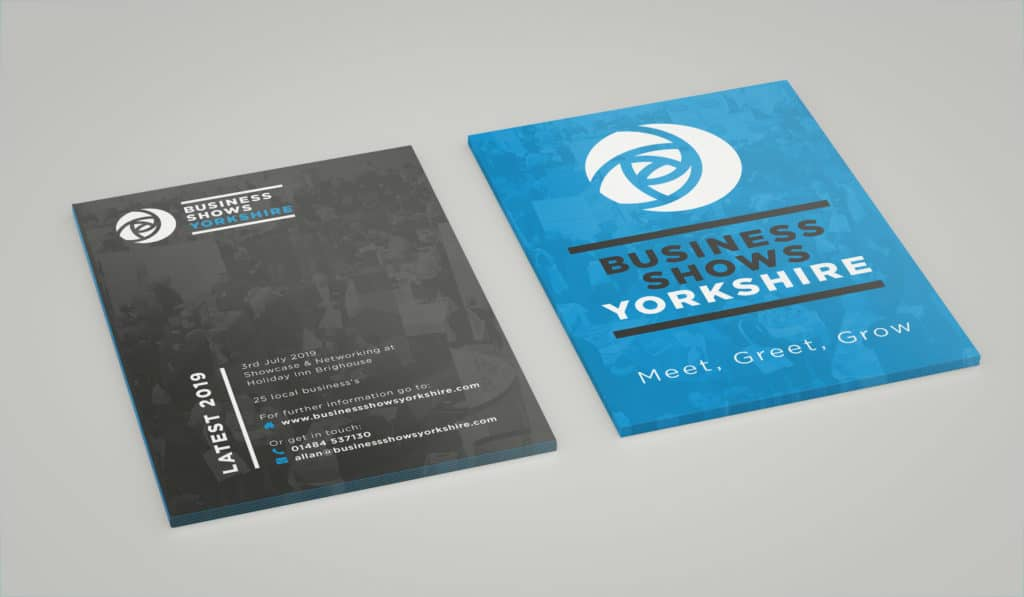 Photo pf flyer for Business Shows Yorkshire