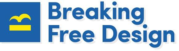 Logo for Breaking Free Design