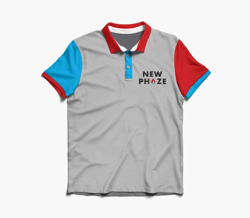 Clothing design for New Phaze Heating