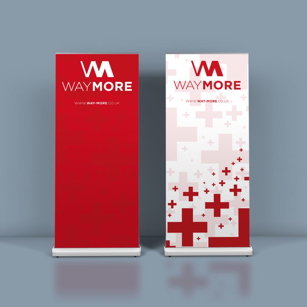 Roller banners for Way More Insurance