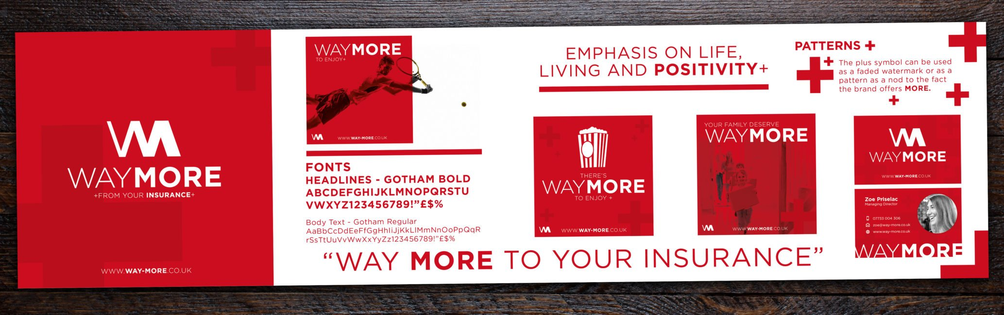 Stylescape for Way More Insurance