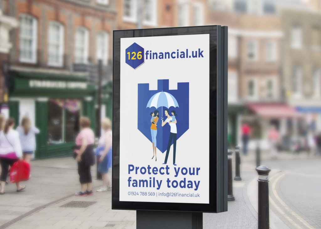 Image of advert for 126 Financial UK