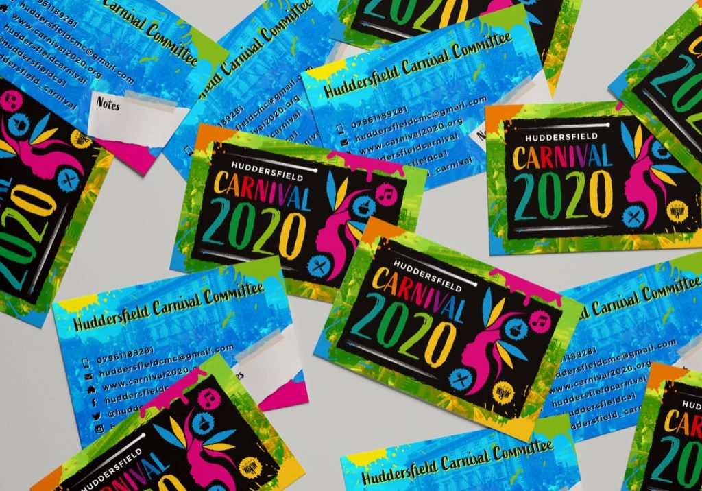 Business cards for carnival committee