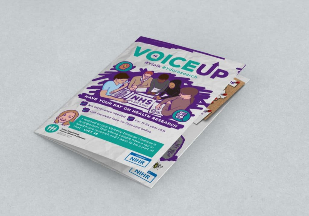 Image of VoiceUp Leaflet