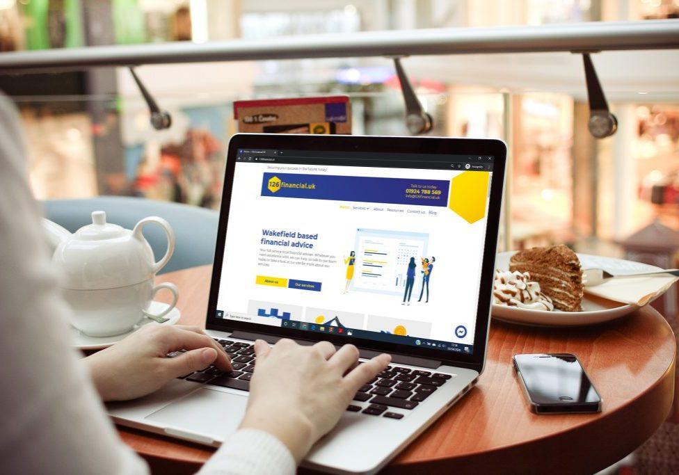 Image of website for 126 Financial UK